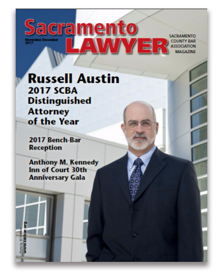 RJA DAY article cover Sacramento Lawyer Magazine